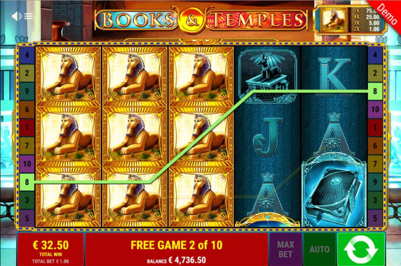Expanding Symbol Free Spins