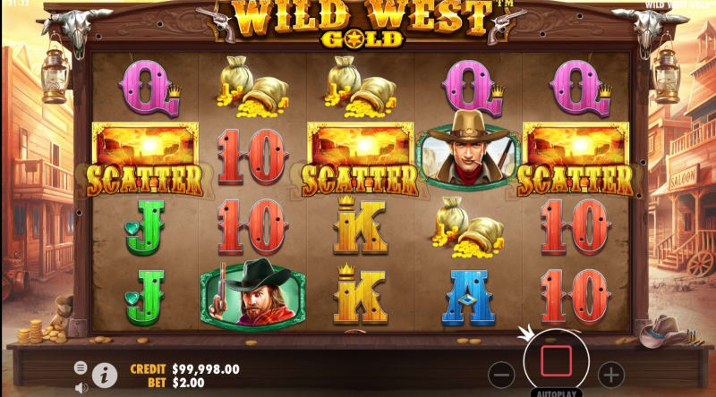 slots-wild_west_gold_slot-Free_Spins_Trigger