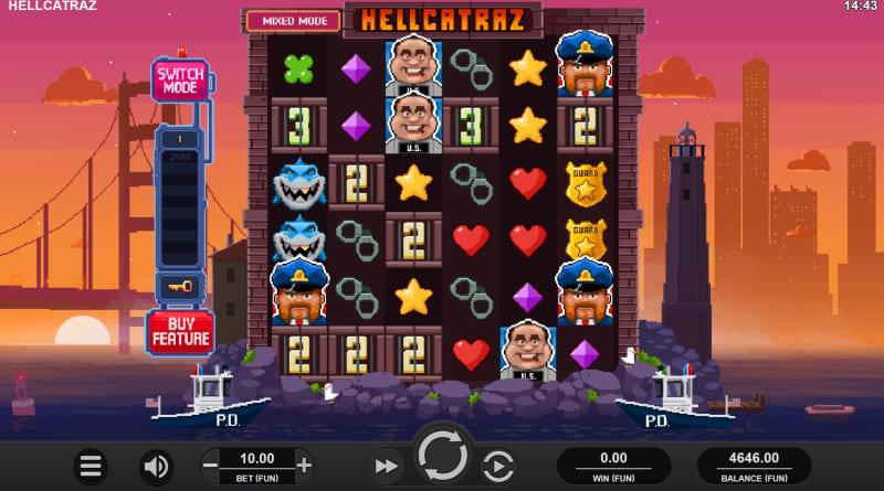 Hellcatraz Design and Symbols