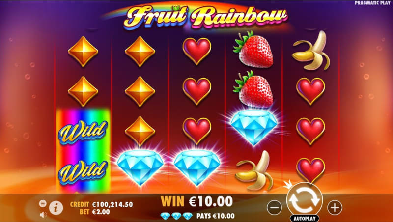 Fruit Rainbow Scatter Pays Feature