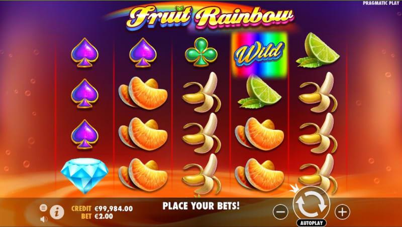 Fruit Rainbow Design and Symbols