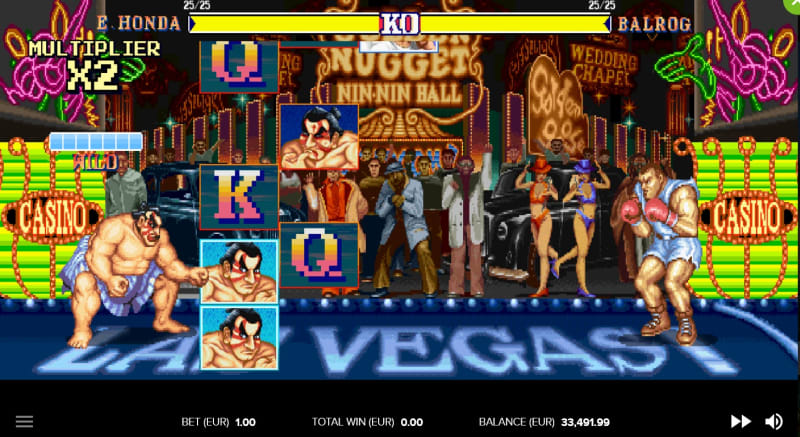 Street Fighter 2 feature