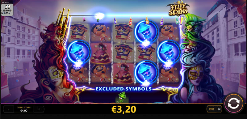 Super Fuego Slot Features