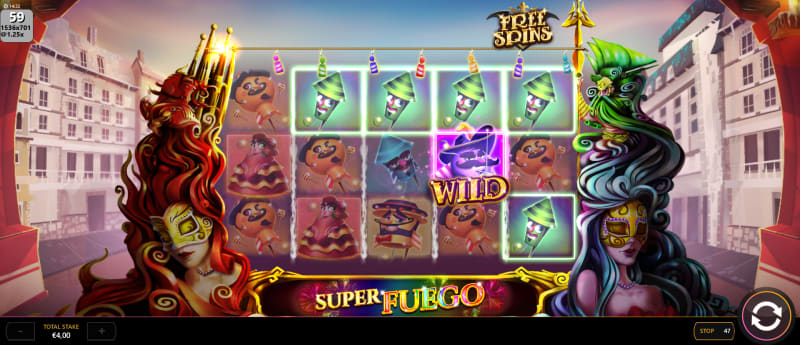 Super Fuego Slot Review
