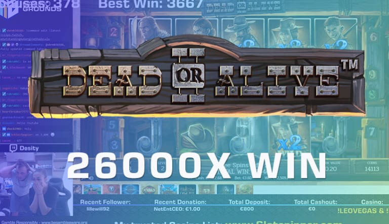 GET IN! Check out Desi's €100.000 win on Dead or Alive 2 From Netent!