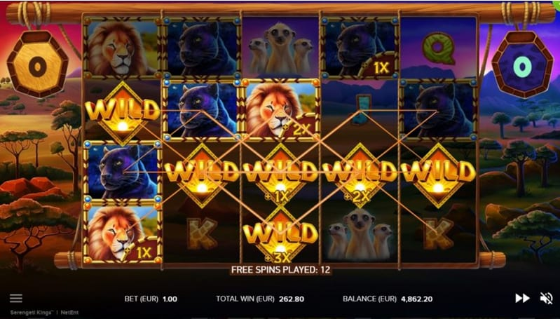 Slots Serengeti Kings Slot Netent FreeSpins Finale