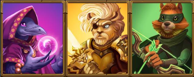 slots-heroes-hunt-slot-fantasma-main-characters