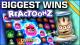 top 10 reactoonz wins