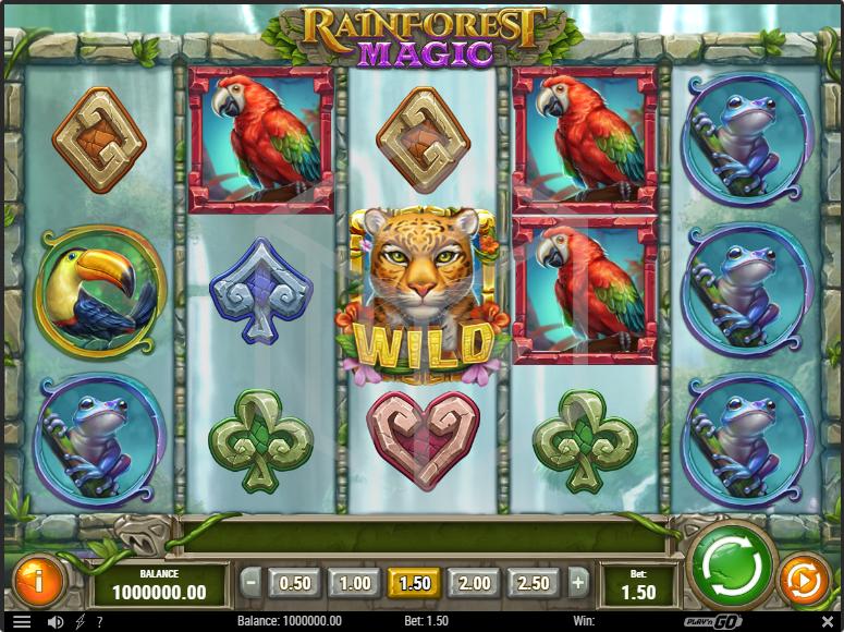 Rainforest_Magic_Slot_Reels_Base_Game