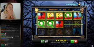 K_blackwood Casino Streamer - Feature in CasinoGrounds Biggest Wins 2017