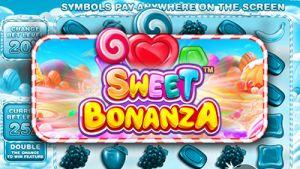 Sweet Bonanza slot logo (Pragmatic Play)