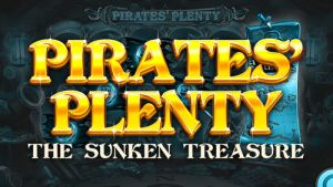 Pirate's Plenty slot logo (Red Tiger)