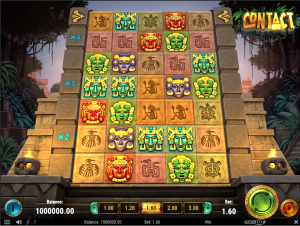Screenshot of base game in Contact slot by Play'n GO