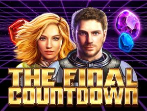 The Final Countdown slot logo (a big time gaming videoslot)