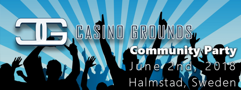 CasinoGrounds Community Party June 2nd 2018 - Fun Games and Big Prizes
