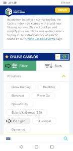 Guide: How to find casinos with must drop jackpots on CasinoGrounds (step 3)