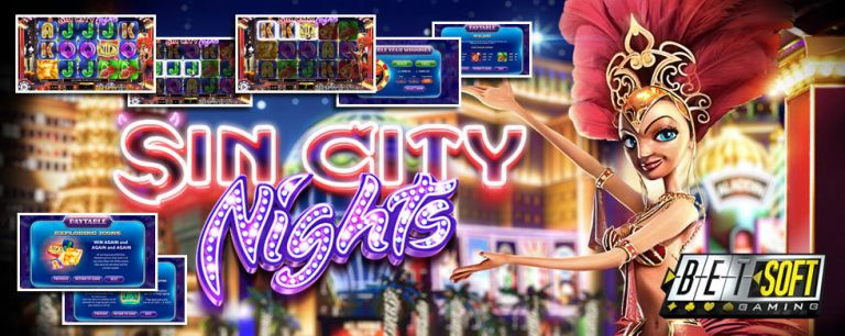New Slot: Sin City Nights (Betsoft Games)
