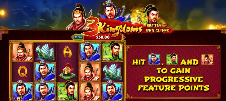 3 Kingdoms - Battle of Red Cliffs Slot