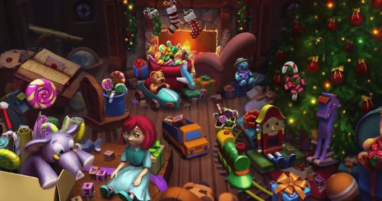 New slot: Secrets of Christmas (Net Entertainment)