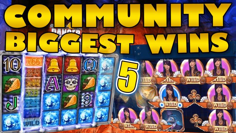 Community Big Wins Slots Compilation Video: #5 /2019