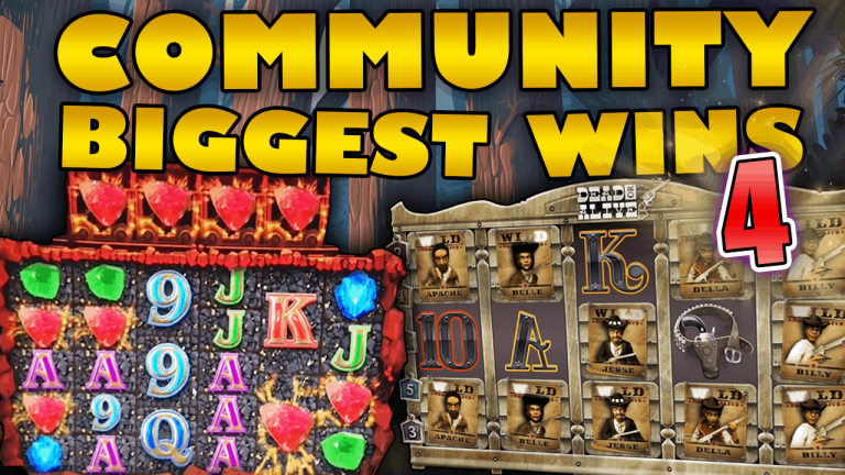 Community Big Wins Slots Compilation Video: #4 /2019