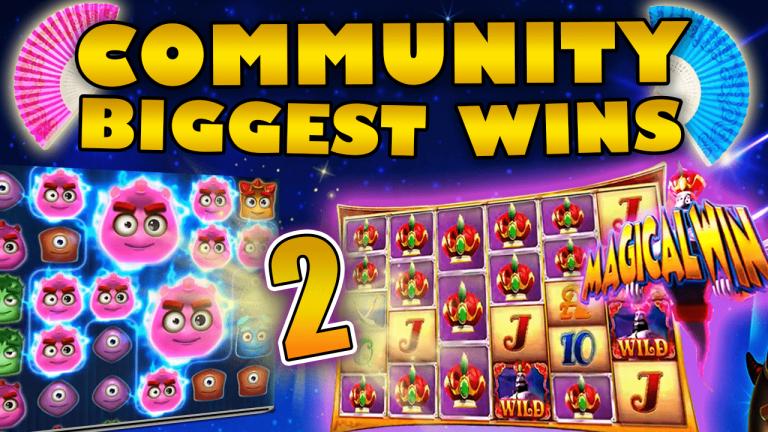 Community Big Wins Slots Compilation Video: #2 /2019