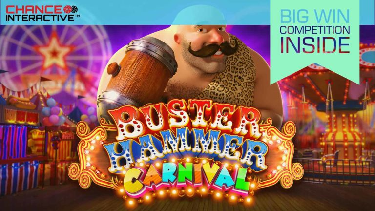 First Giveaway of the Year - Welcome to Chance Interactive and a Brand New Buster!