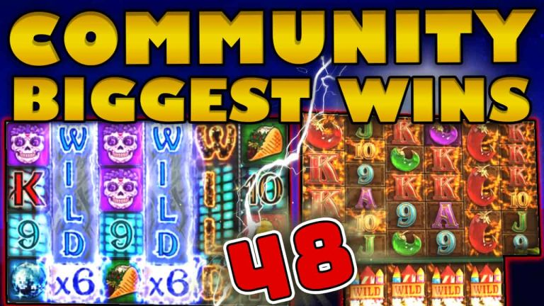 Community Big Wins Slots Compilation Video: #48 /2018