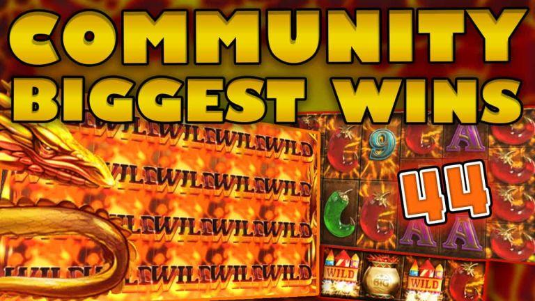 Community Big Wins Slots Compilation Video: #44 /2018