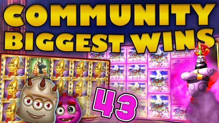 Community Big Wins Slots Compilation Video: #43 /2018
