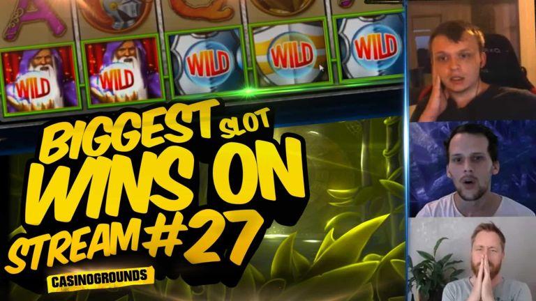 Casino Streamers Biggest Wins Compilation Video #27