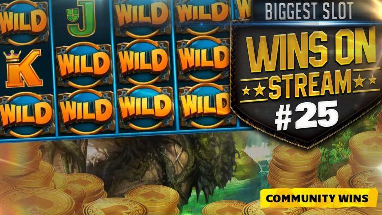 Community Big Wins Slots Compilation Video: #25/2017