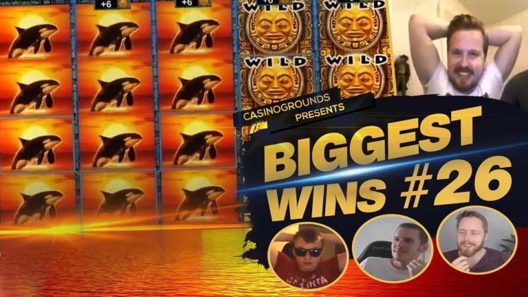 Casino Streamers Biggest Wins Compilation Video #26