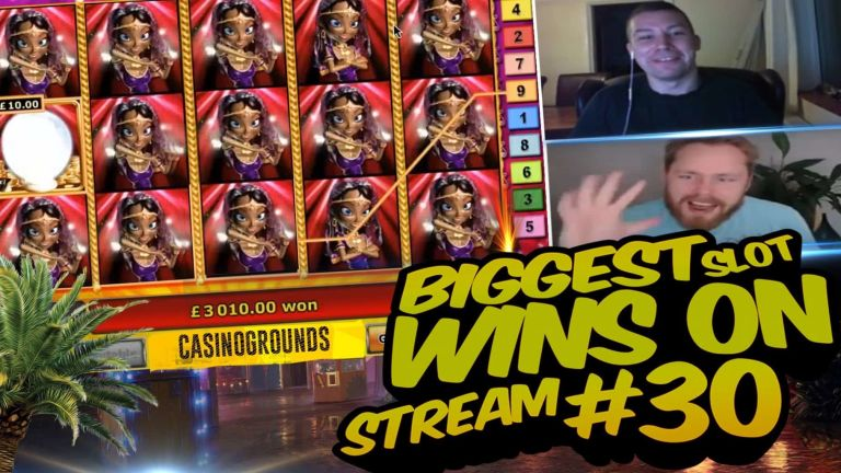 Casino Streamers Biggest Wins Compilation Video #30