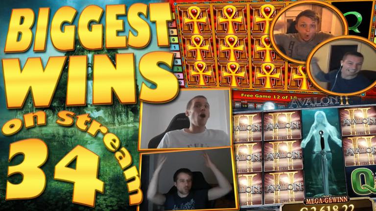 Casino Streamers Biggest Wins Compilation Video #34
