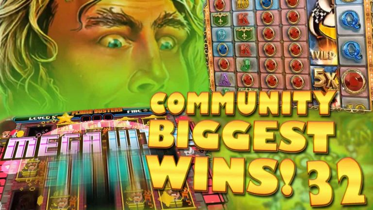 Community Big Wins Slots Compilation Video: #32/2017
