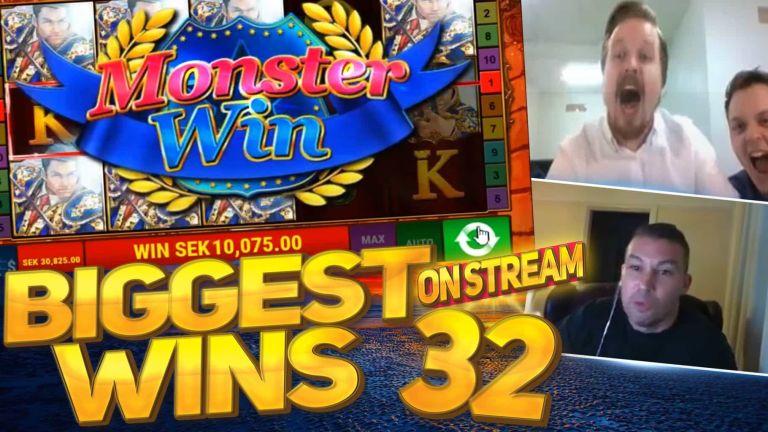 Casino Streamers Biggest Wins Compilation Video #32