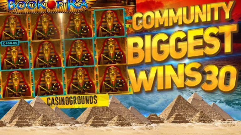 Community Big Wins Slots Compilation Video: #30/2017