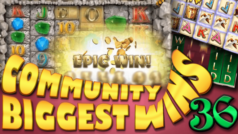 Community Big Wins Slots Compilation Video: #36/2017