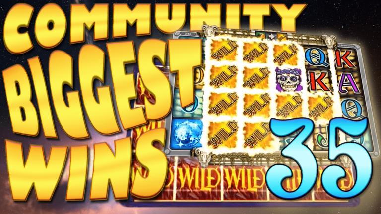 Community Big Wins Slots Compilation Video: #35/2017