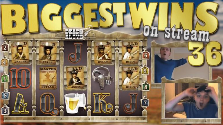 Casino Streamers Biggest Wins Compilation Video #36