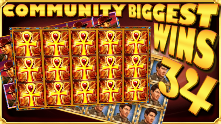 Community Big Wins Slots Compilation Video: #34/2017