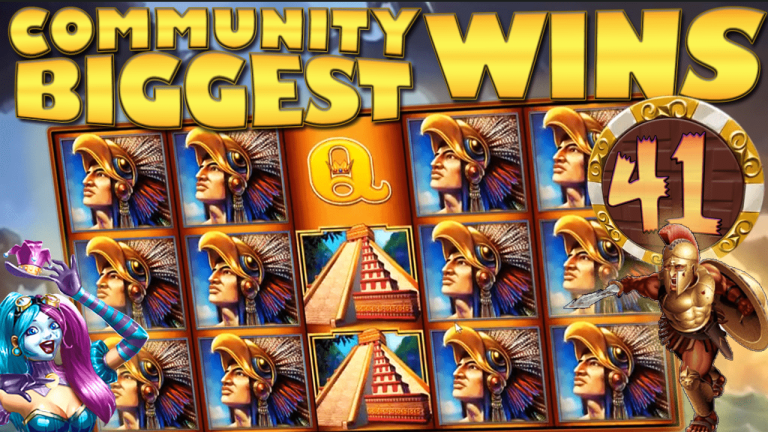 Community Big Wins Slots Compilation Video: #41/2017
