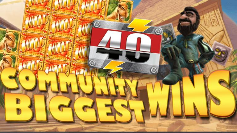 Community Big Wins Slots Compilation Video: #40/2017