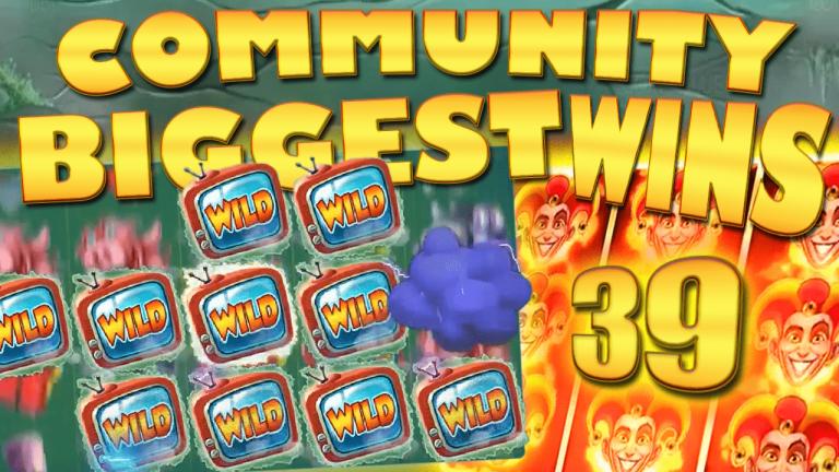 Community Big Wins Slots Compilation Video: #39/2017