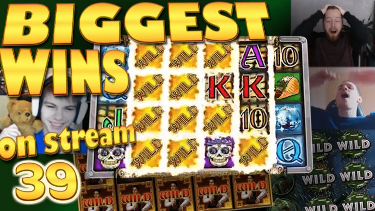 Casino Streamers Biggest Wins Compilation Video #39