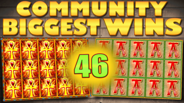 Community Big Wins Slots Compilation Video: #46/2017