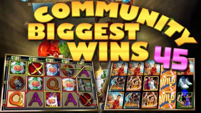 Community Big Wins Slots Compilation Video: #45/2017
