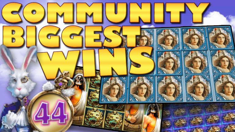 Community Big Wins Slots Compilation Video: #44/2017