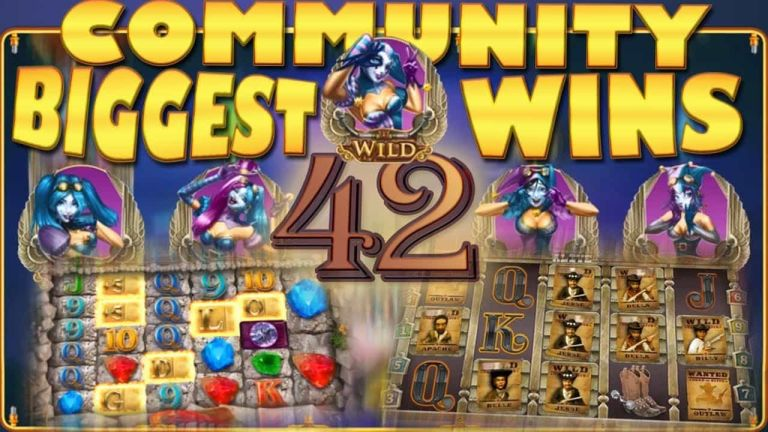 Community Big Wins Slots Compilation Video: #42/2017